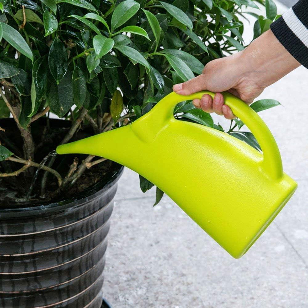 MyLifeUNIT Plastic Watering Can, Elegant Watering Pot, 1/2-Gallon (Green) : Garden & Outdoor
