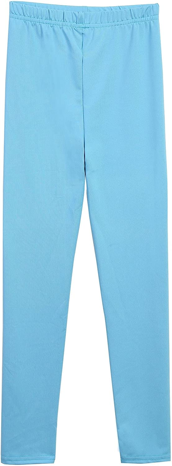 Blue Age for 10-11Y Arshiner Little Girls Solid Color Leggings Tights130