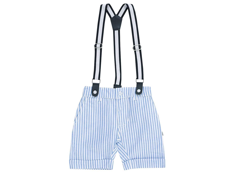 Jacky Baby Jungen Latz-Shorts Sommer Kurze Hose