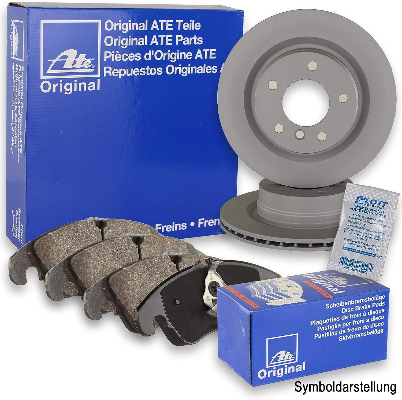 Ate Brake Discs Ate Brake Pads Rear Brake Set Auto