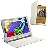 Celicious Notecase W2 Wallet Stand Case for Lenovo Yoga Tablet 2 10.1 - White