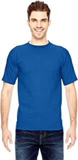 product image for Bayside Men's American made cotton Basic T-Shirt, ROYAL, XXX-Large