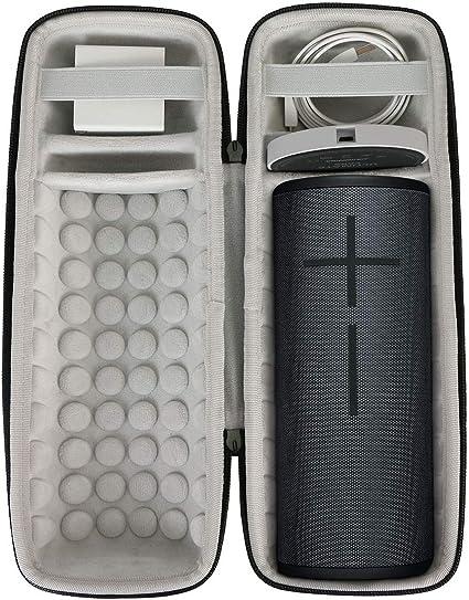 Aenllosi Hard Storge Case for fits Ultimate Ears UE MEGABOOM 3 Portable Bluetooth Wireless Speaker megaboom 3, Black