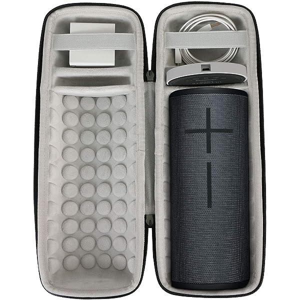 Purple Khanka Hard Travel Case Replacement for Ultimate Ears UE MEGABOOM 3 Portable Bluetooth Wireless Speaker