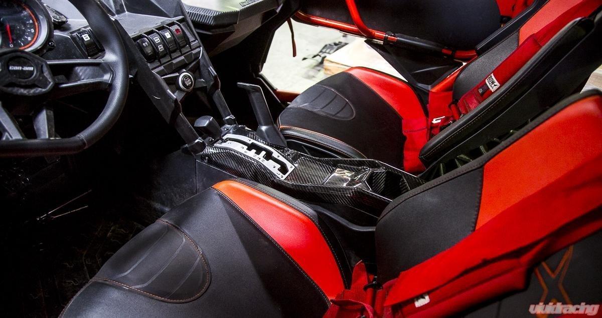 2017 - 2018 CAN-AM Maverick X3 Turbo XRS de fibra de carbono centro consola por agencia de ap-brp-x3 - 607: Amazon.es: Coche y moto