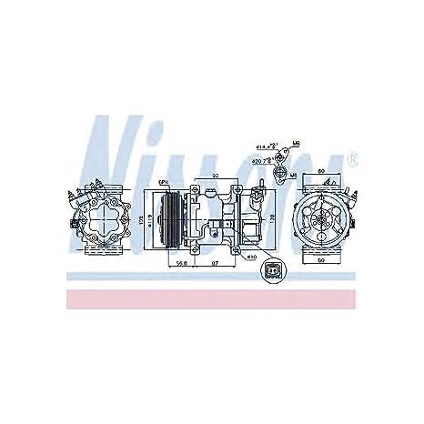 Nissens 89053 Compresor, Aire Acondicionado