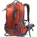 G4Free 登山リュック バックパック レインカバー付 50L 防水 大容量 軽量 防災 リュックサック メンズ 多機能 ディバッグ アウトドア