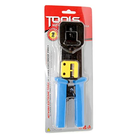 Groovy Amazon Com Crimping Tool Kit Heavy Duty Crimp Tool For Ez Rj45 End Wiring Cloud Hisonuggs Outletorg