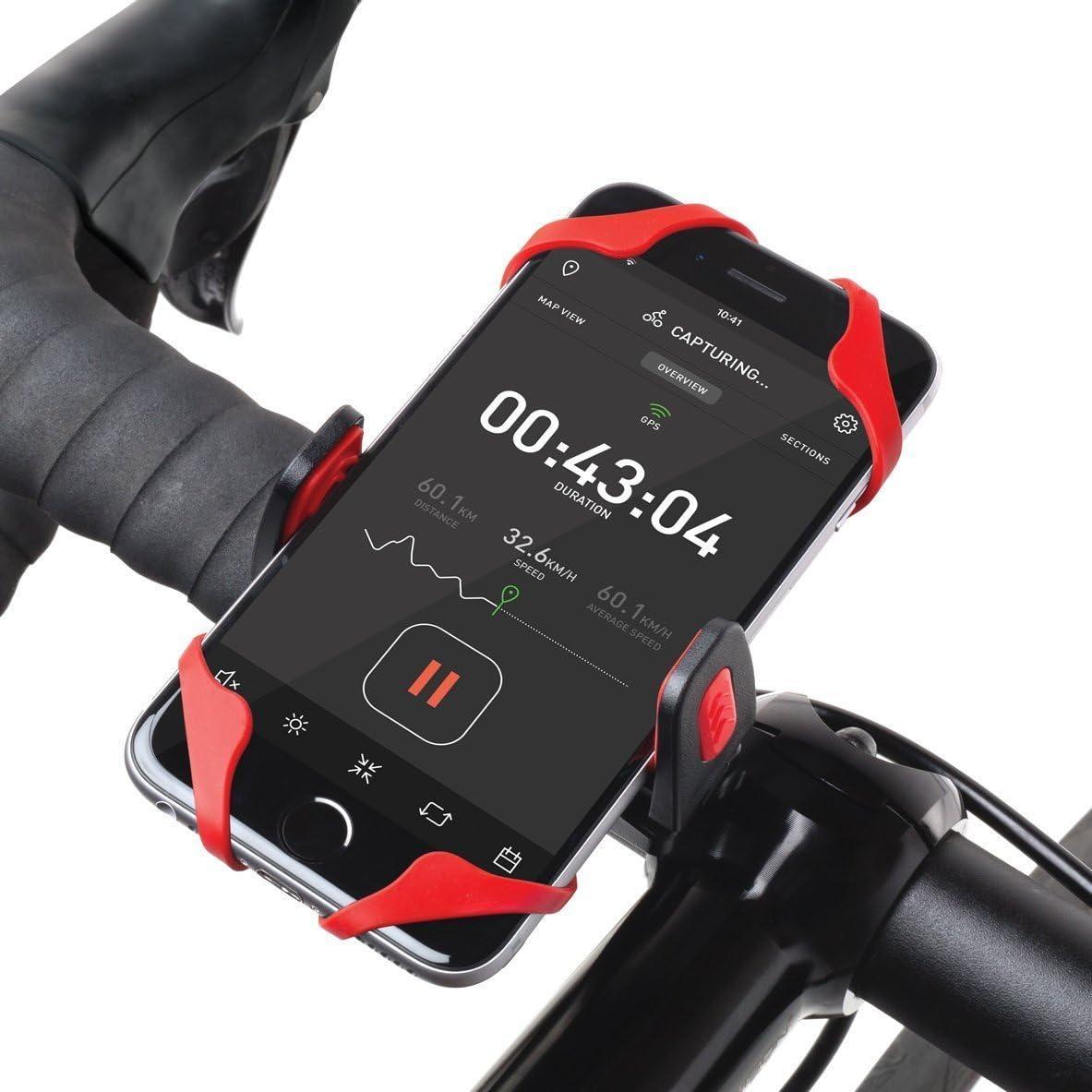 Icefox Fahrrad Halterung Lenker Velo X Cyclomount Für Rennrad Trekkingrad Bike For Iphone 6 6 Plus 5 5s 5c Samsung Htc Blackberry Nokia Android Smartphones Navigation