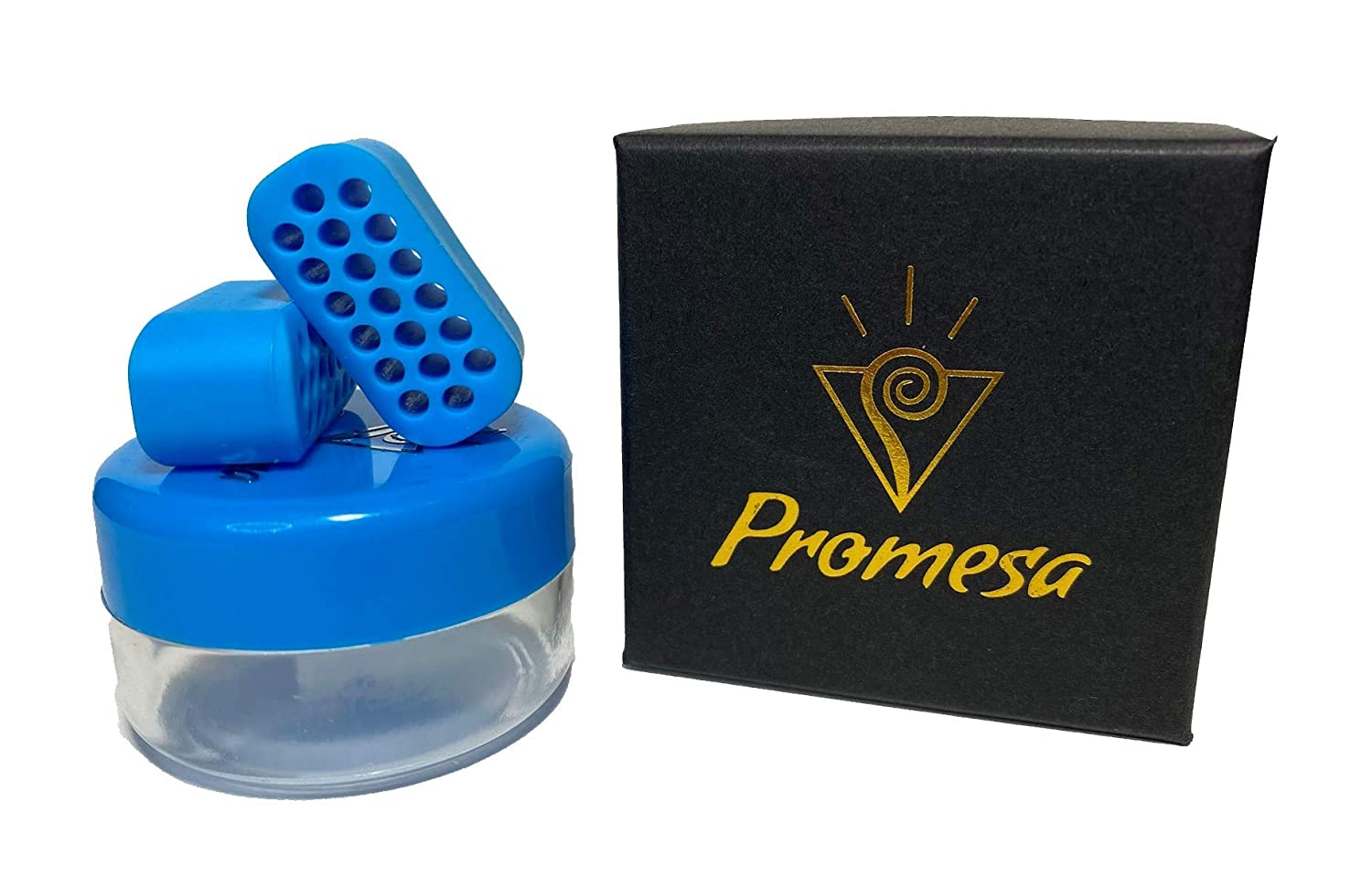 Promesa Newly Designed Jaw Exerciser for Men and Women, High-Elasticity Food-Grade Silica Gel. Best Jaw Workout to Eliminate Double Chin and Tone Face and Neck, Shape & Chisel Jawline.
