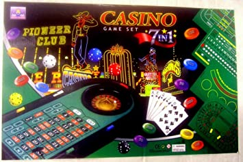 Casino Game Set 7 In 1