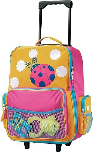 Miles Kimball Ladybug Rolling Luggage