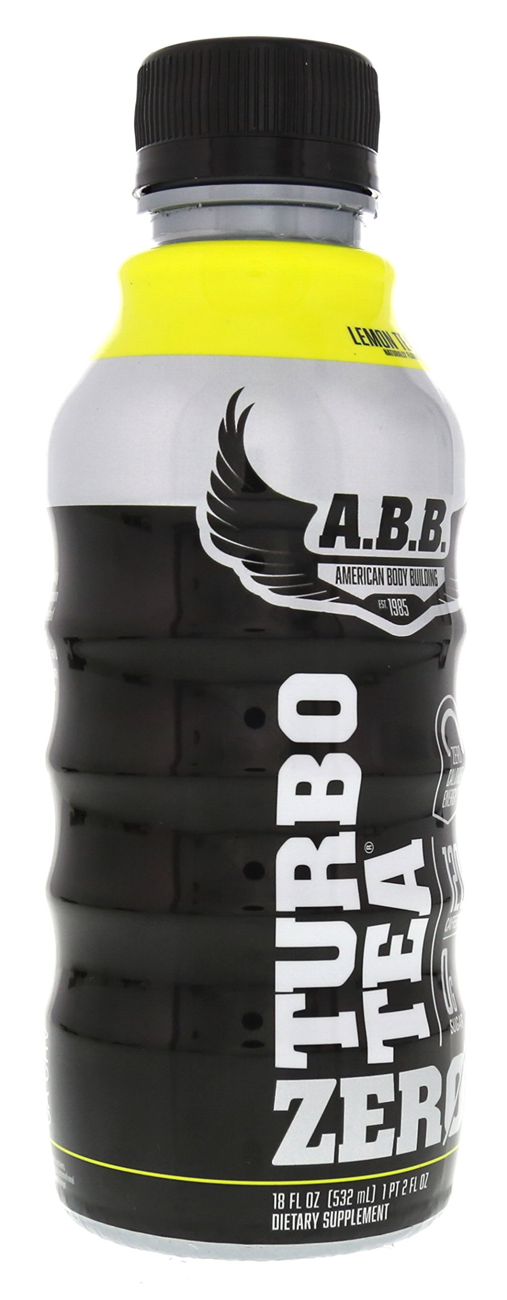 ABB Turbo Zero Tea 12/18oz Bottles Lemon Tea by ABB (Image #8)