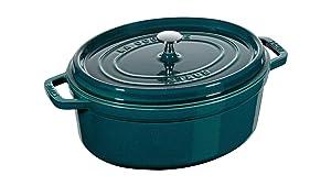 Staub La Cocotte 6 QT. Oval Dutch Oven - Limited Edition Teal