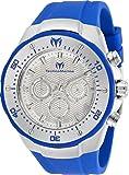 Technomarine Manta Men's 48mm Quartz Watch with Silicone Strap