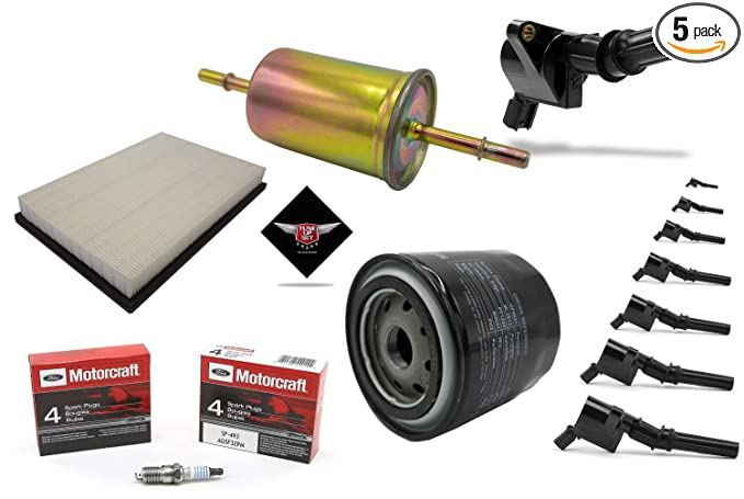 Amazon.com: Tune Up Kit 2008 Mercury Grand Marquis V8 Ignition Coil DG508 Spark Plug SP493: Automotive