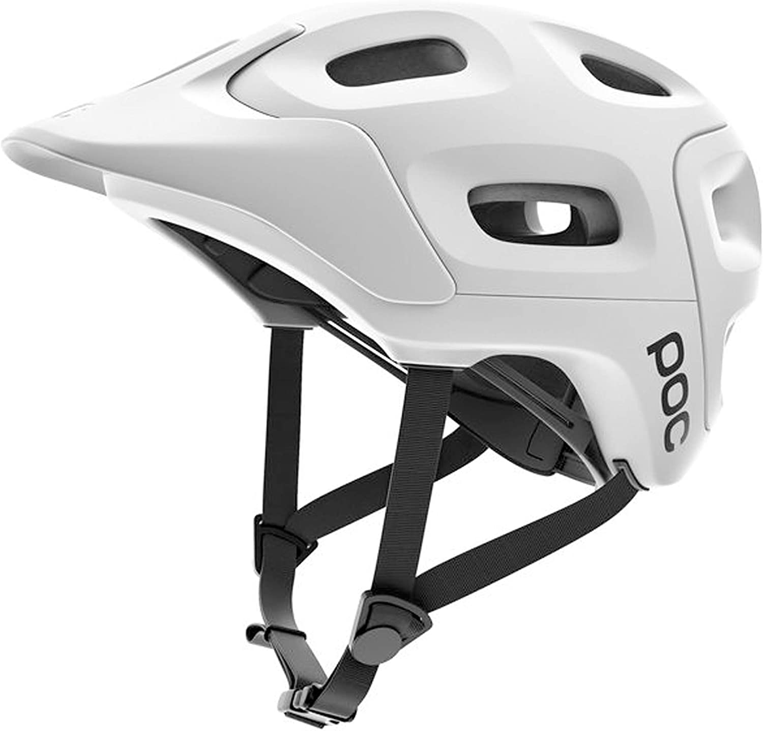 POC Trabec, Helmet for Mountain Biking, Hydrogen White, M-L