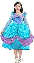 9674cae7f2802 UR Fashion 人魚姫 ドレス マーメイド コスプレキッズ プリンセスドレス 子供 なりきり お姫様ドレス ハロウィン クリスマス