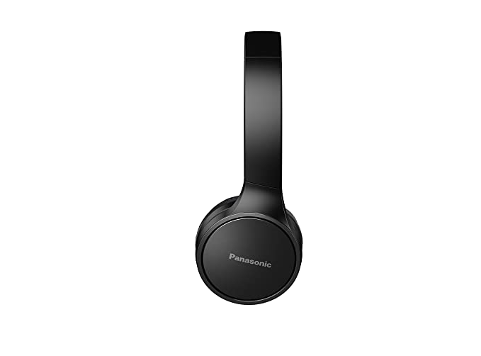 Panasonic RP-HF400BE-K - Auriculares de Diadema con micrófono (binaurale, Control en línea, inalámbrico, 10 m, Negro): Amazon.es: Electrónica