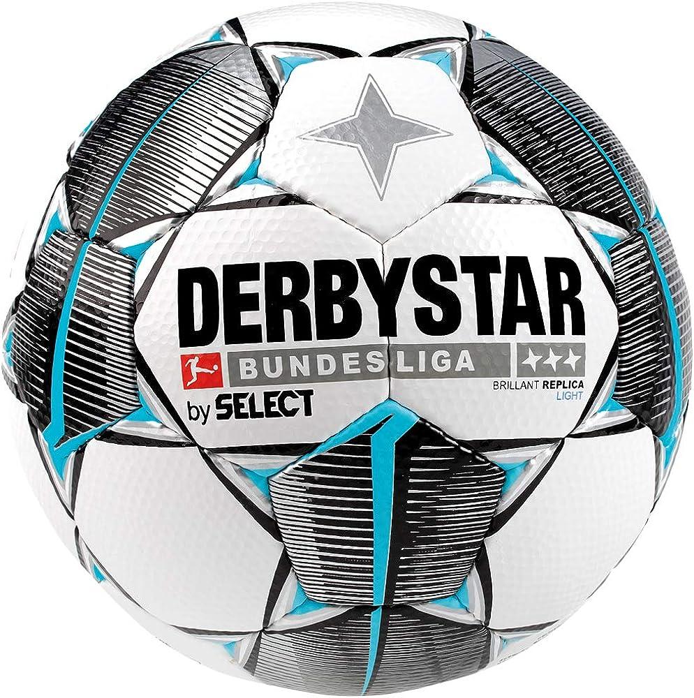 Derbystar Brillant Light - Balón de fútbol para niños, Color weiß ...