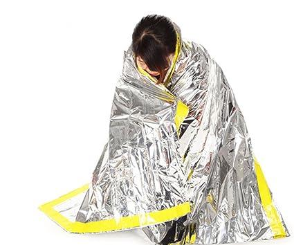 Katech al Aire Libre Manta de Emergencia Primeros Auxilios Saco de Dormir radiación protección adiabatic Lifesaving