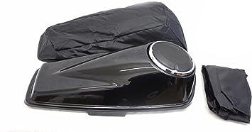 SP-L-014 Mutazu 6.5 Slope Speaker Lids for 2014-up Harley Touring Bagger Gaskets covers