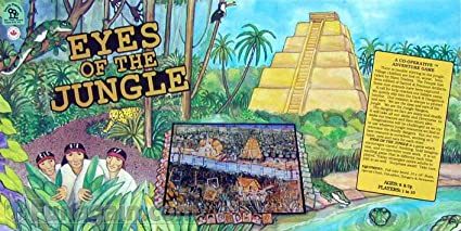 Family Pastimes Eyes of the Jungle A Co-operative Adventure Game