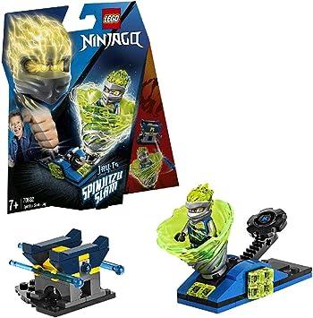Comprar LEGO Ninjago - Spinjitzu Slam: Jay Peonza Ninja de Juguete para construir, Novedad 2019 (70682)