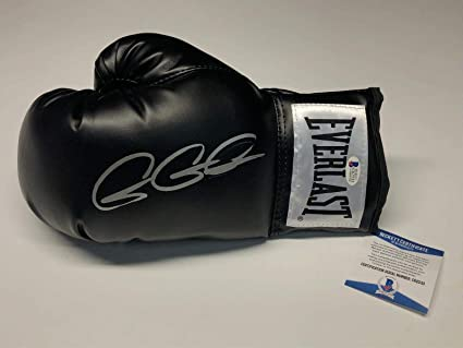 6ed1ad0d680 Image Unavailable. Image not available for. Color  Gennady Golovkin  Triple  G  Signed Black Everlast Boxing Glove ...