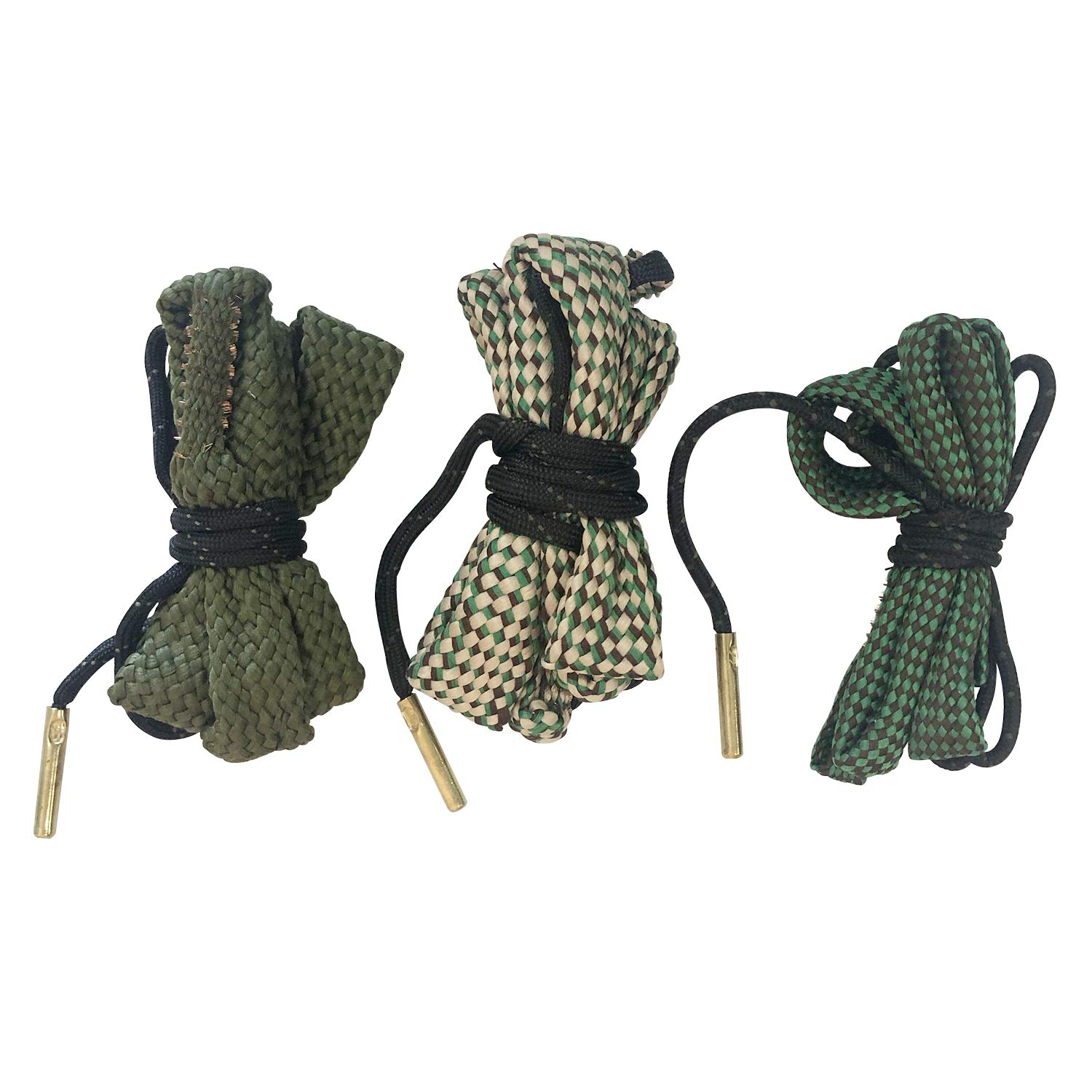 STEELEAGLE Bore Snake 3 Pack -223 5.56 9mm .357 .38 .380 30-30 30-06 .308 .30 Caliber Rifles and Pistols Cleaning Kit by STEELEAGLE