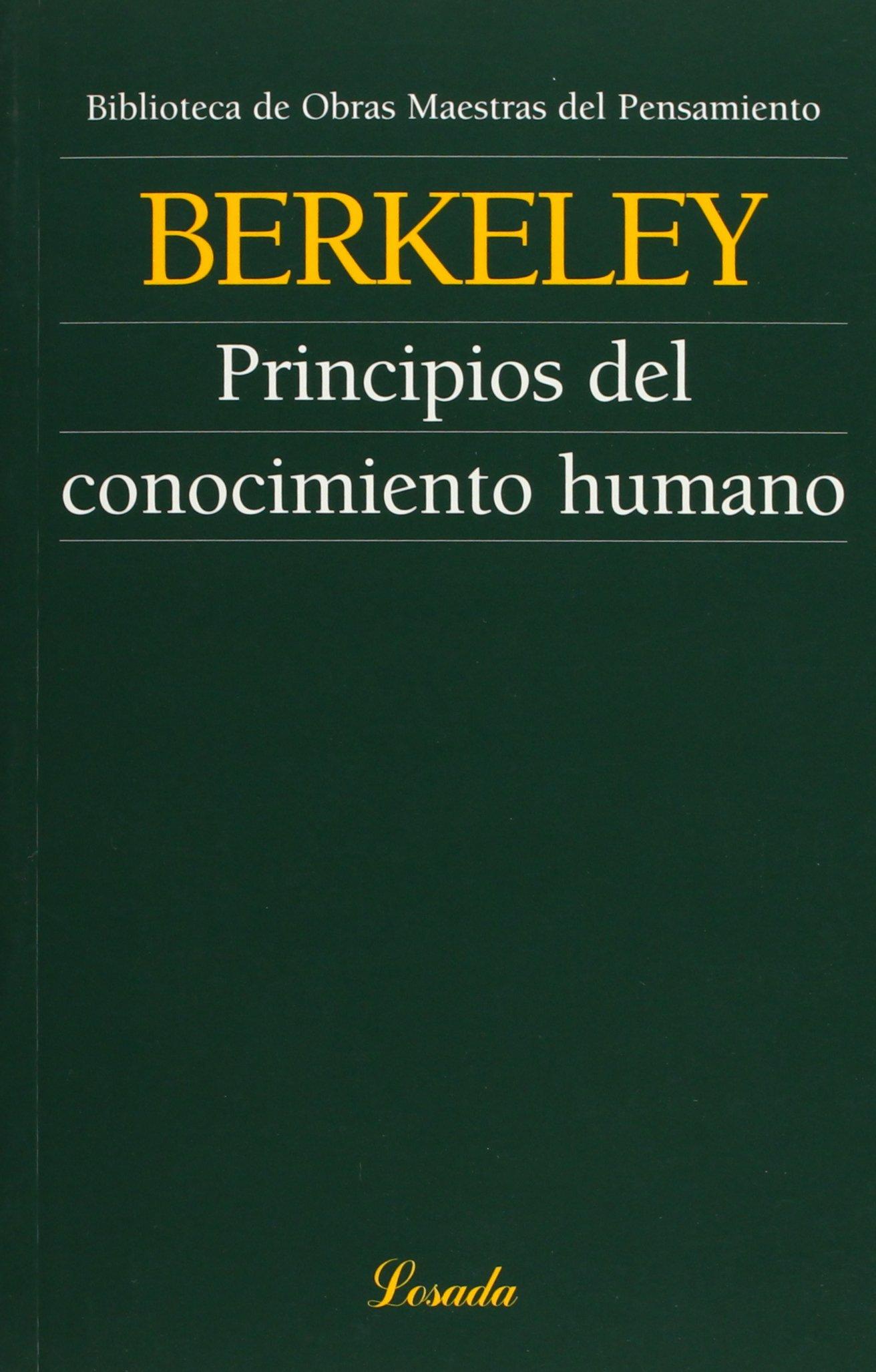 Resultado de imagen para berkeley principios del conocimiento humano