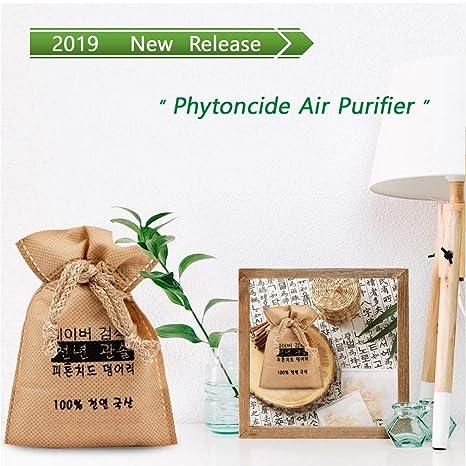 Amazon.com: NOMARZIN - Purificador de aire de fítonos, árbol ...