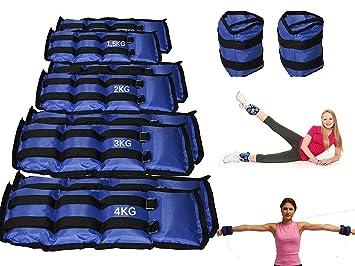Pesos para tobillos o muñecas para deporte, artes marciales, actividad física: Amazon.es: Deportes y aire libre