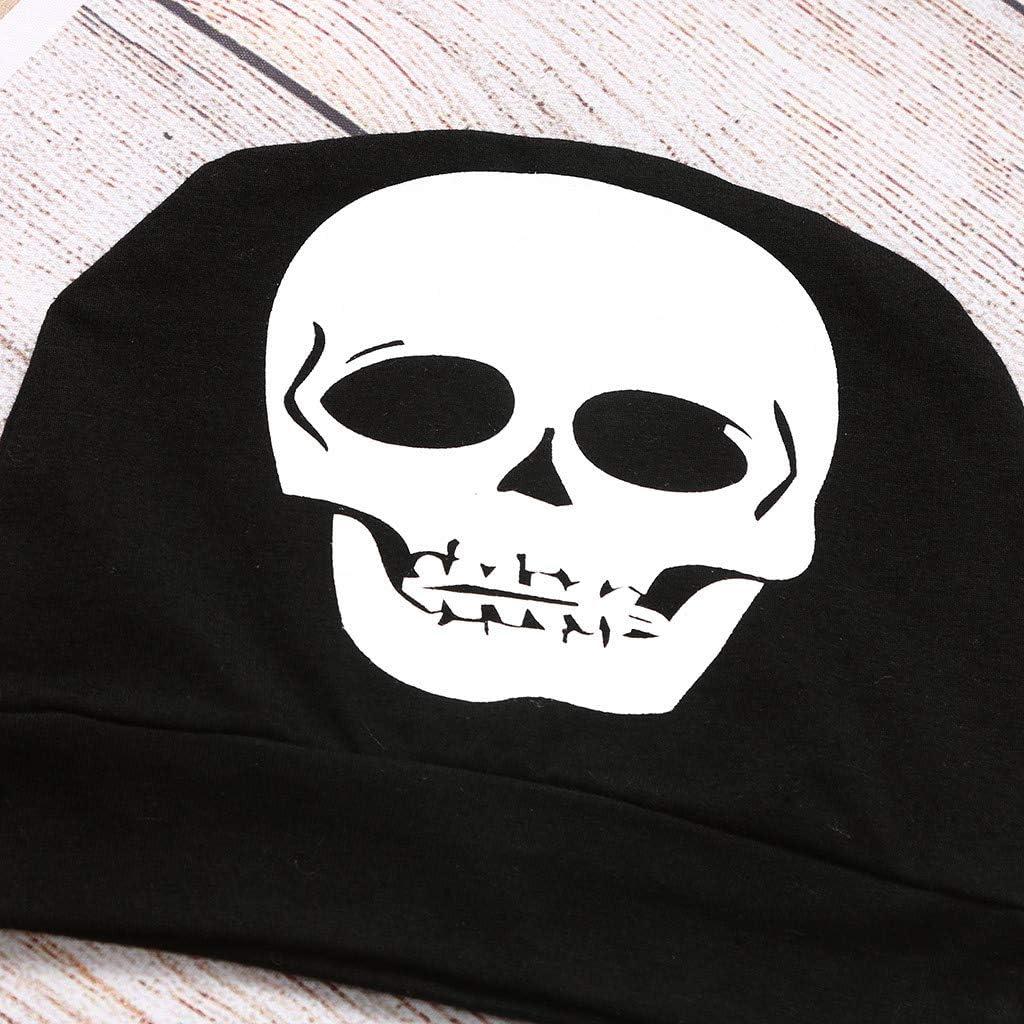 K-Youth Disfraz Halloween Bebe Ni/ña Cosplay Esqueleto Ropa Bebe Nino Recien Nacido Trajes para Bebes Bautizo Ropa Bebe Ni/ña Invierno Fiesta Pelele Bebe Ni/ño Monos Bebe Mameluco