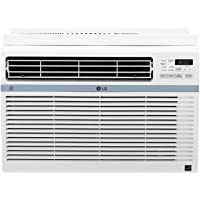 LG 115V Window-Mounted Air Conditioner Wi-Fi Control