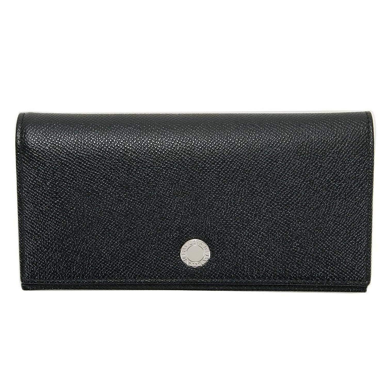 BVLGARI ブルガリ 財布 長財布 メンズ レディース ブラック 27746 [並行輸入品] B01G9MOGJI