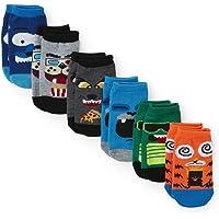 The Children's Place, calcetines de moda para niños pequeños, paquete de 6