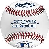 Rawlings Official League Recreational Baseballs & Bucket, 24 Count, R8U