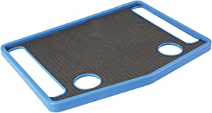 "Support Plus Walker Tray Table Accessory with Non-Slip Mat/Cup Holders (21""x16"") - Royal Blue"