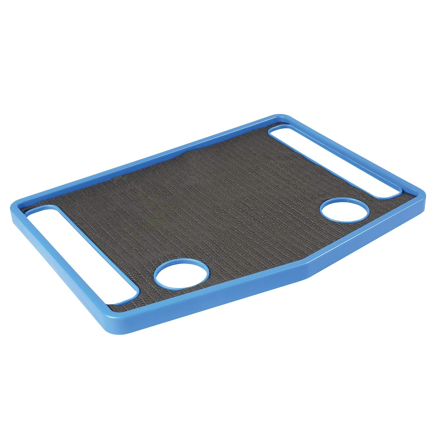 Support Plus Walker Tray Table Accessory with Non-Slip Mat/Cup Holders (21''x16'') - Royal Blue by SUPPORT PLUS