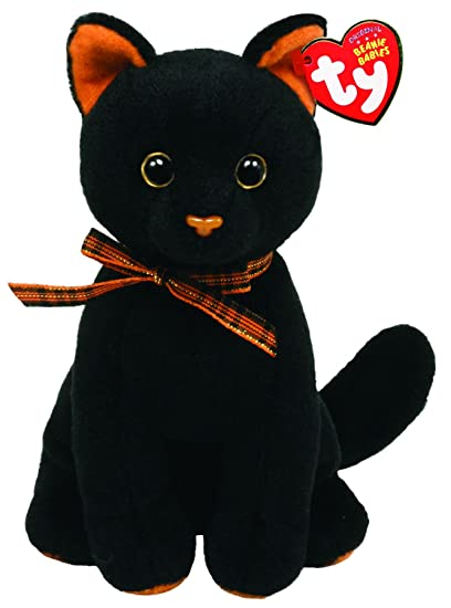 570b8df9156 Amazon.com  Ty Beanie Baby Sneaky - Cat  Toys   Games