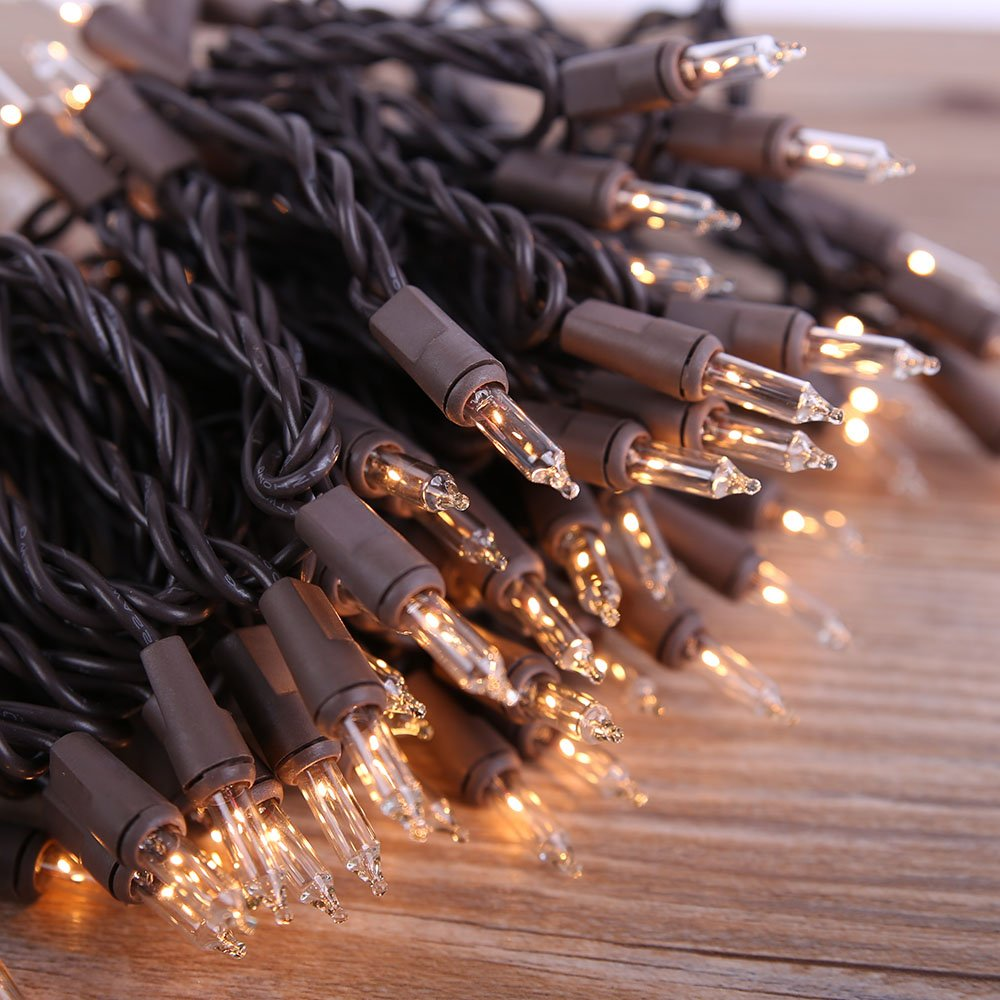 Amazon.com : Lidore? Super Bright Clear Mini Christmas tree Lights ...