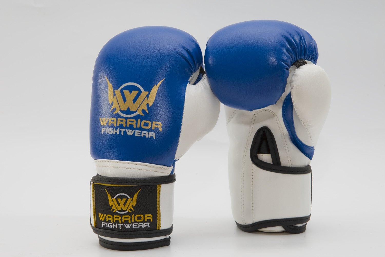 2pcs Boxing Training Fighting Gloves Leather Kid Sparring Kickboxing Gloves UK