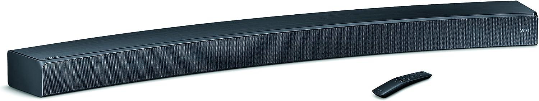 Samsung Sound+ HW-MS6500 - Barra de Sonido inalámbrica Curva (Bluetooth, Wi-Fi), Negro