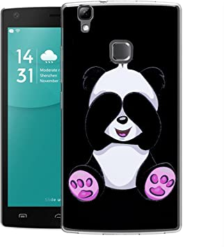 Funda Doogee X5 Max/ X5 Max Pro Panda tímido Mariposas Suave TPU Silicona Anti-rasguños Protector Trasero Carcasa Para Doogee X5 Max/ X5 Max Pro: Amazon.es: Electrónica