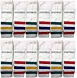 Yacht & Smith Mens & Womens Wholesale Bulk Cotton Tube Socks, Referee Style, by SOCKS'NBULK
