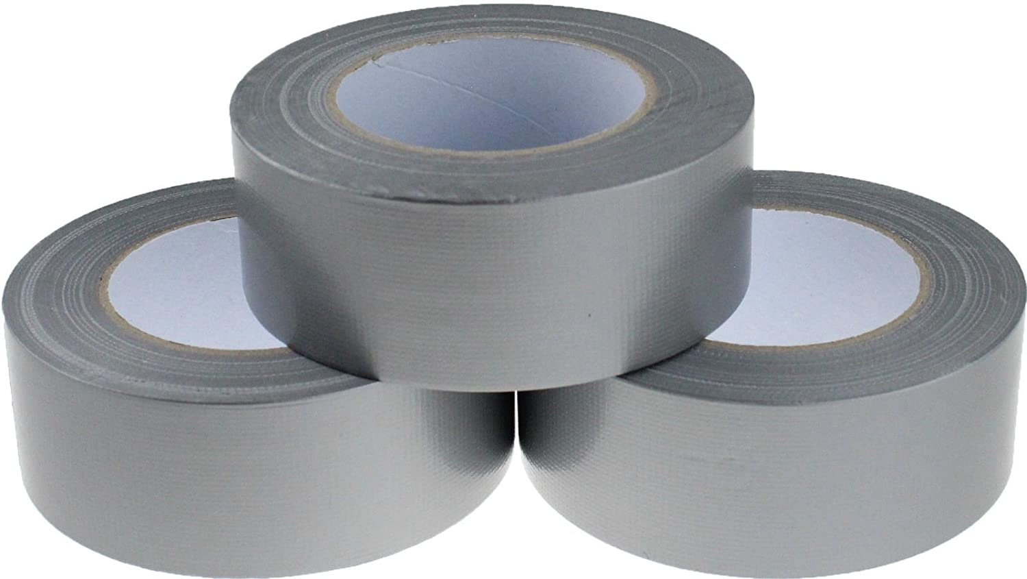 4 x HIGH QUALITY SILVER GAFFER DUCT TAPE ROLLS ☆ SIZE 48mm x 50m ☆ QUALITY PACKING PARCEL SEALING ☆ FAST DELIVERY ☆