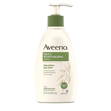 J&J-Baby Aveeno Active Naturals Daily Moisturizing Lotion, 12 Ounce Body Lotions at amazon