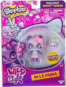 Shopkins S10 SHOPPETS Pack - Macaron Panda