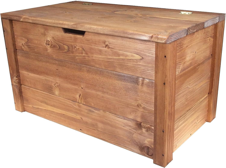 Cassapanca in legno impregnata portaoggetti 150x40x45cm ANCHE SU MISURA